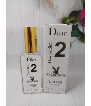 Тестер с феромонами женский  Christian Dior Addict 2 (Диор Аддикт 2) 65 мл