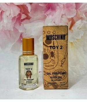 Оригинальные масляные духи женские Moschino Toy 2 (Москино Той 2) 12 мл