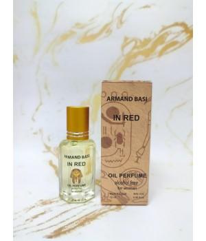 Оригинальные масляные духи женские Armand Basi In Red (Арманд Баси Ин Рэд) 12 мл