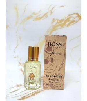 Оригинальные масляные духи женские Boss Femme (Босс Фам) 12 мл