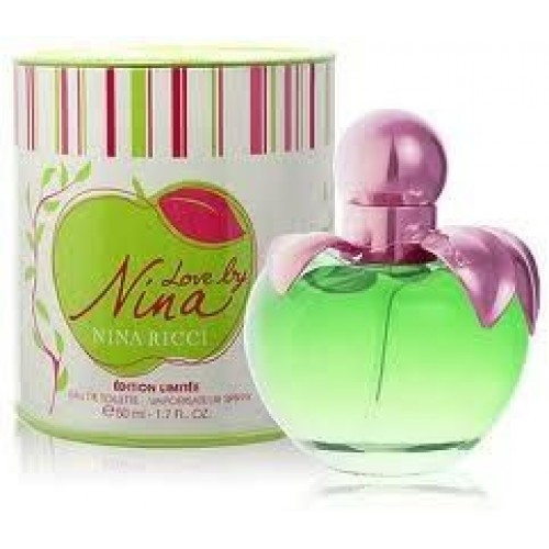 Женская туалетная вода Nina Ricci Love by Nina (Нина Ричи Лав Бай Нина) 80 мл