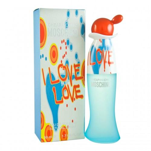 Женская туалетная вода Moschino Cheap and Chic I Love Love (Москино Чип энд Чик Ай Лав Лав) 100 мл