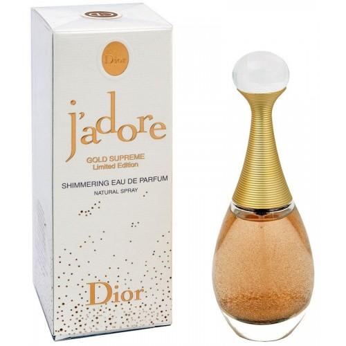 Женская парфюмированная вода Christian Dior J'adore Gold Supreme Limited (Жадор Голд Суприм Лимитед) 75 мл