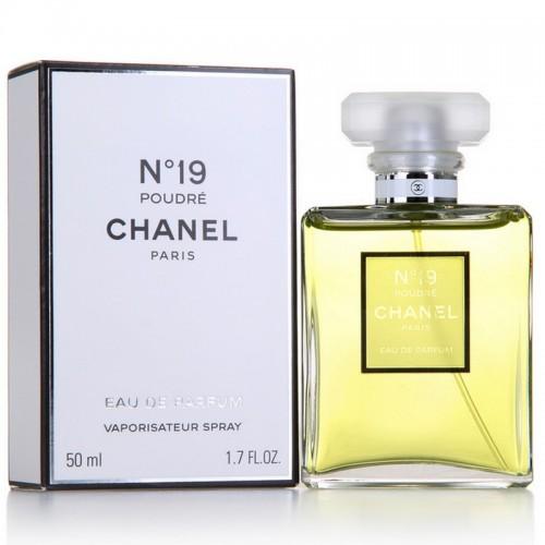 Женская парфюмированная вода Chanel № 19 Poudre for women (Шанель №19 Пудре фо вумен) 100мл