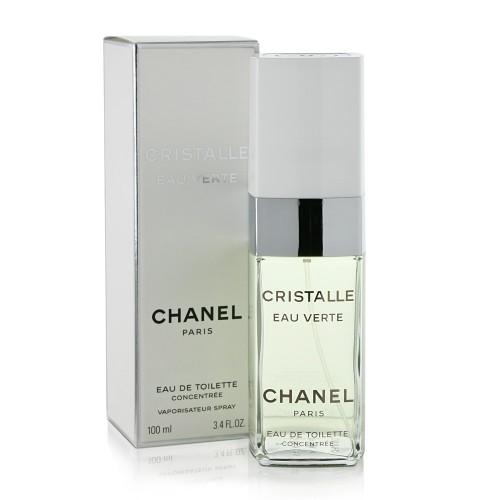 Женская туалетная вода Chanel Cristalle eau verte (Шанель Кристал е Верте) 100мл