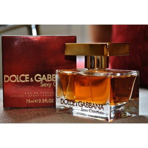 Женская парфюмированная вода Dolce & Gabbana The One Sexy Chocolate (Зе Ван Секси Чеколат) 75 мл