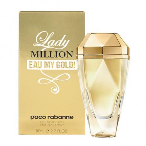 Женская парфюмированная вода Paco Rabanne Lady Million eay My Gold (Пако Рабан Леди Миллион Май Голд) 80 мл