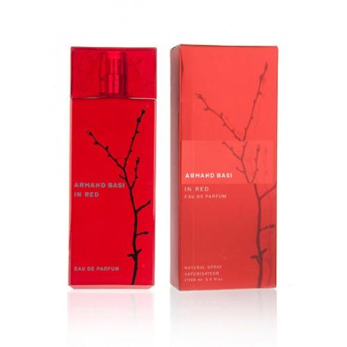 Женская парфюмированная вода Armand Basi In Red Eau de Parfum (Ин Ред О Де Парфюм) 100мл