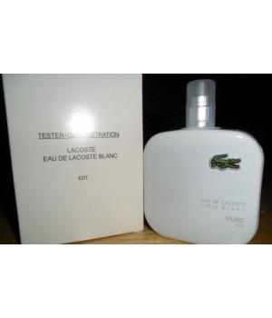 Тестер туалетная вода мужская Lacoste Eau De Lacoste L.12.12 Blanc (Лакоста Бланк) 100 мл
