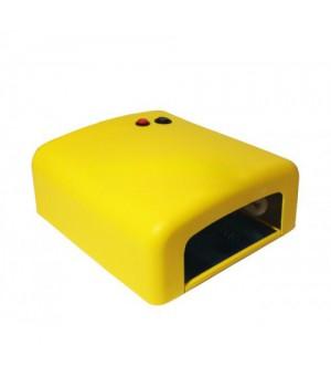 Уф лампа 818 36 Вт Yre (L-13) с таймером на 2 мин, желтая