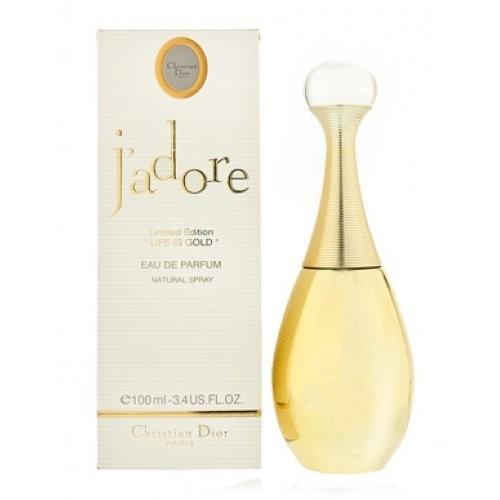 """Женская парфюмированная вода Christian Dior J`adore Limited Edition """"Life is Gold"""" 75 мл"""