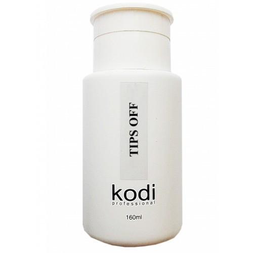 """Kodi """"Tips Off"""" Жидкость для снятия гель-лака и акрила (160 мл)"""