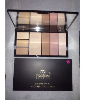 MALVA ― Палитра для коррекции лица Professional Make-Up Palette №03 M-470