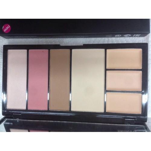 MALVA - Палитра для коррекции лица Professional Make-Up Palette №02 M-470