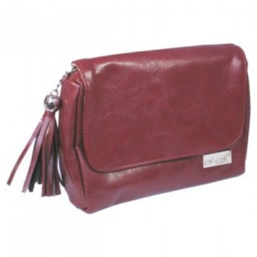 Косметичка-сумочка Max Mar BM-99R кожаная (красная)