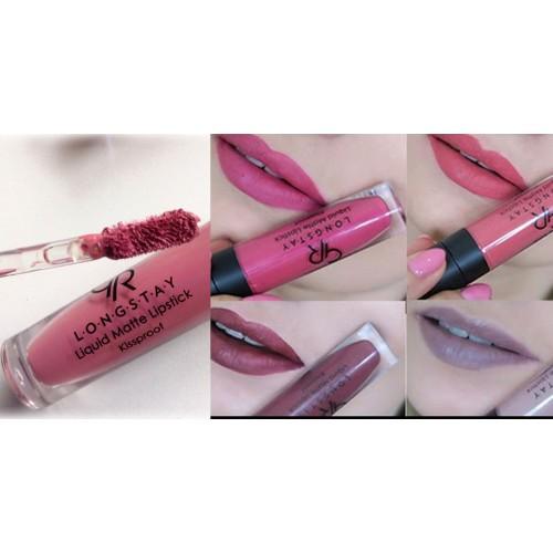 Матовая жидкая помада   «GOLDEN ROSE» Longstay Liquid Matte Lipstick