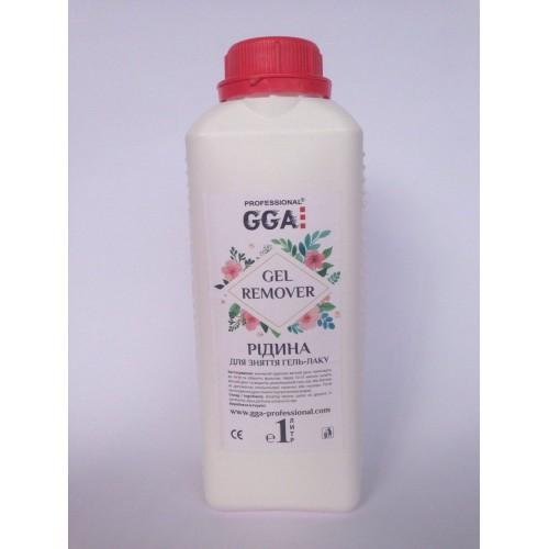 Жидкость для снятия гель-лака GGA professional (ЖЖА профешионал) 1000 мл
