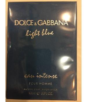 Мужская парфюмированная вода Dolce Gabbana Light blue Intence (Лайт Блю Интенс) 100 мл