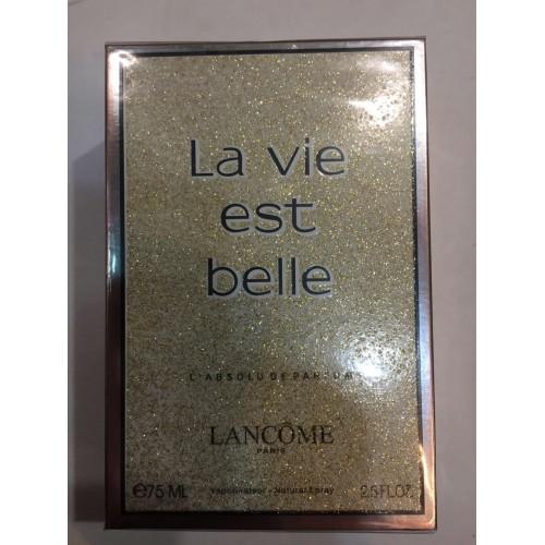 Женская парфюмированная вода Lancome La vie est belle absoclute (Ла Ви Эст Бэль Абсолют) 75 мл