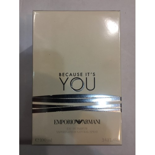 Женская парфюмированная вода Giorgio armani Emporio armani Because its you (Бикоз иц ю) 100 мл