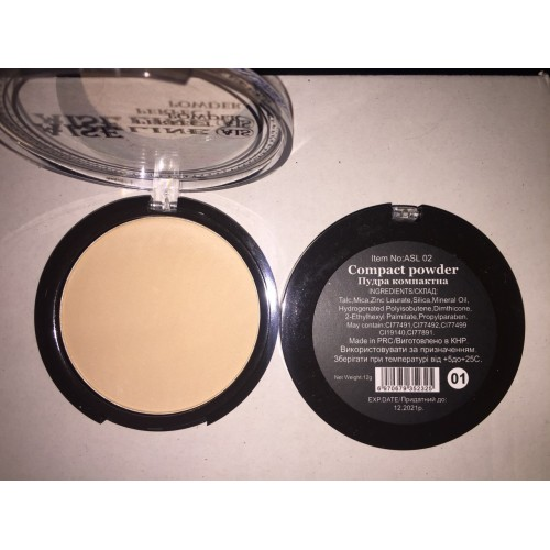 Компактная пудра Compact powder Aise № 1
