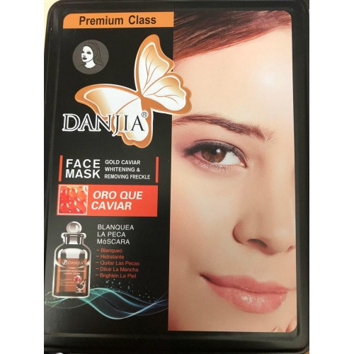 Маска для кожи лица Danjia Face Mask Oro Que Caviar (с красной икрой)