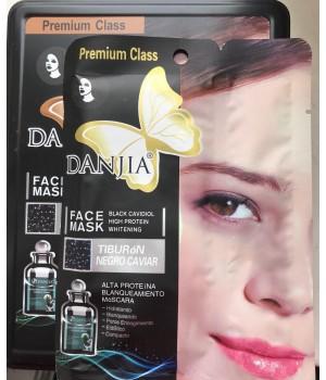 Маска для кожи лица Danjia Face Mask Tiburon Negro Caviar 2 Steps (с черной икрой)