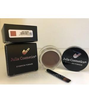 Гелевая помада для бровей Julia Cosmetics  Soft Brown(Мягкий Коричневый)