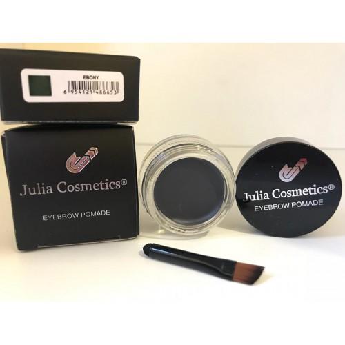 Гелевая помада для бровей Julia Cosmetics  Ebony(Серая)