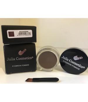 Гелевая помада для бровей Julia Cosmetics Medium Brown(Коричневый)