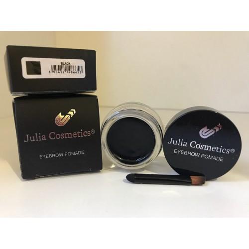 Гелевая помада для бровей Julia Cosmetics Black (Черный)