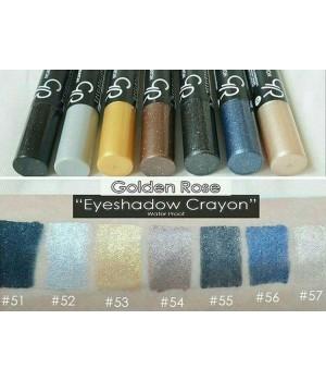 Тени-карандаш Golden Rose Glitter Eyeshadow Crayon