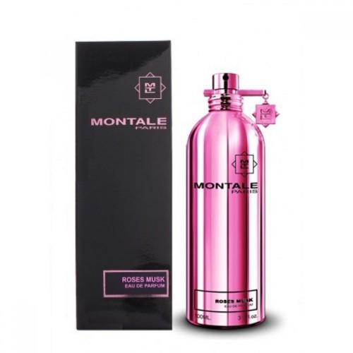 Женская парфюмированная вода Montale Roses Musk (Монталь роуз муск) 100  мл