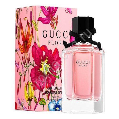 Женская туалетная вода Gucci Flora Gorgeous Gardenia Limited Edition (Гучи Флора Джёрджэс Гардения) 75 мл