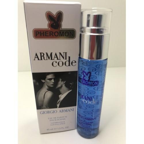 Женская парфюмированная  вода с феромонами Giorgio Armani Armani Code 45 мл