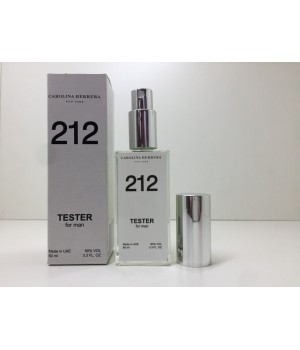 Тестер мужской Carolina Herrera 212 Men (Каролина Херера  212 Мэн) 60 мл