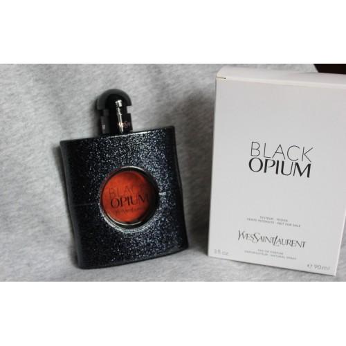 Тестер парфюмированная вода женская  Yves Saint Laurent Black Opium (Ив Сен Лоран Блэк Опиум) 90 мл