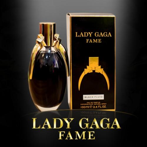 Женская парфюмированная вода Lady Gaga Fame Black Fluid (Леди Гага Фам Блэк Флюид) 100 мл