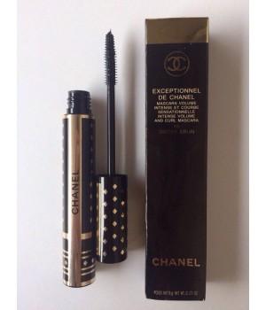 Объемная подкручивающая тушь Chanel Exceptionnel (Шанель Эксепшоннел)