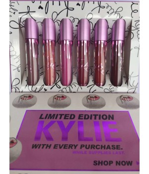 Жидкая матовая помада Kylie Limited Edition With Every Purchase фиолет.упаковка