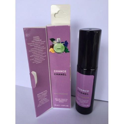Женский мини парфюм с феромоном Chanel Chance Eau Fraiche (Шанель Шанс Фреш) 35 мл