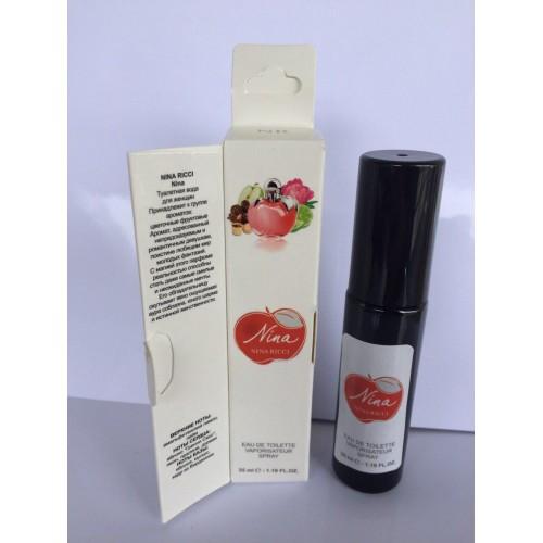 Женский мини парфюм с феромоном Nina Ricci Nina (Нина Риччи Нина) 35 мл