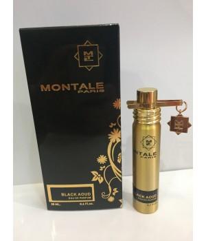 Мини парфюм мужской Montale Black Aoud (Монталь Блэк Ауд) 20 мл