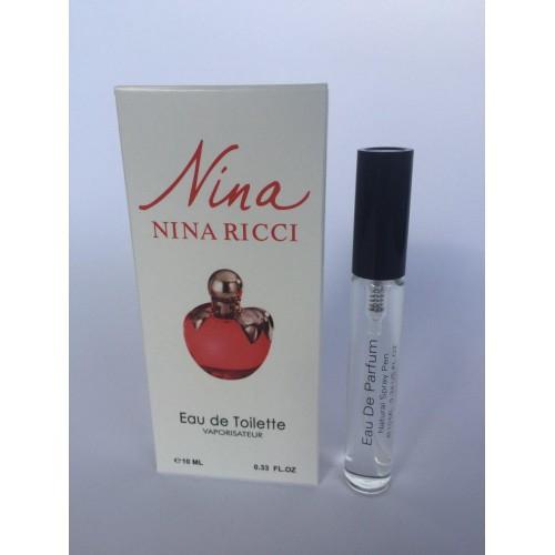 Женский мини парфюм с феромонами Nina Ricci Nina (Нина Риччи Нина) 10 мл