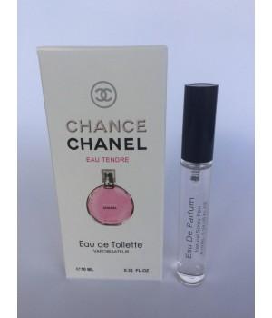 Женский мини парфюм с феромонами Chanel Chance Eau Tendre (Шанель Шанс Тендре) 10 мл
