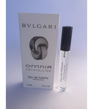 Женский мини парфюм с феромонами Bvlgari Omnia Crystalline (Булгари Омния Кристаллин) 10 мл