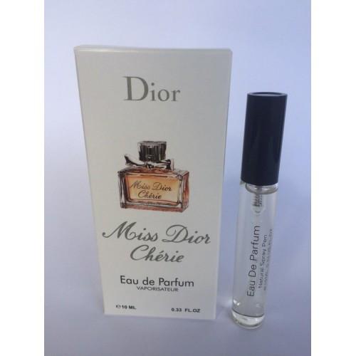 Женский мини парфюм с феромонами ChristianDior Miss Dior Cherie (Кристиан Диор Мисс Диор Шери) 10 мл