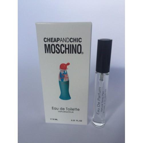 Женский мини парфюм с феромонами Moschino I Love Love (Москино Ай Лов Лов) 10 мл