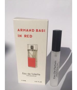 Женский мини парфюм с феромонами Armand Basi In Red (Арманд Баси Ин Ред) 10 мл