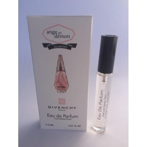 Женский мини парфюм с феромоном GivenchyAngeOuDemonLe Secret (Живанши Ангел и Демон Ле Сикрет) 10 мл